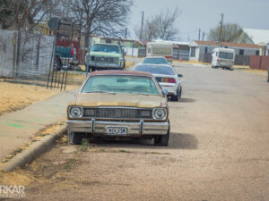 Typische Amerikaanse straat