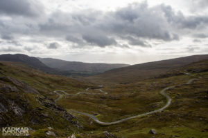 Kronkelweg in Ierland