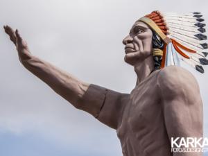 Groot Indianen beeld