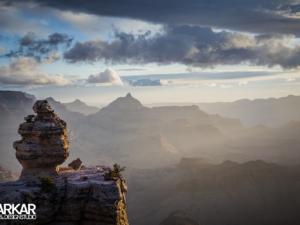 Steen voor de Grand Canyon