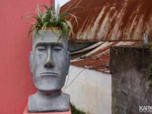 Moai plantenbak